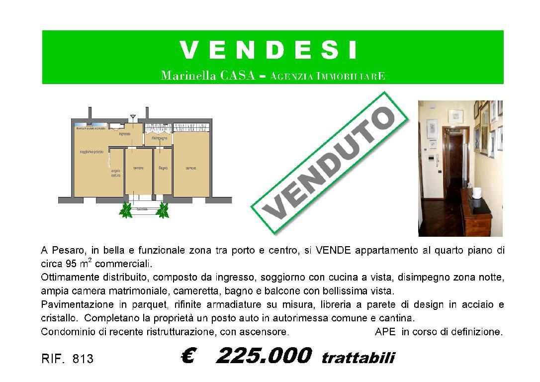 813 APPARTAMENTO VENDITA PESARO (PU)
