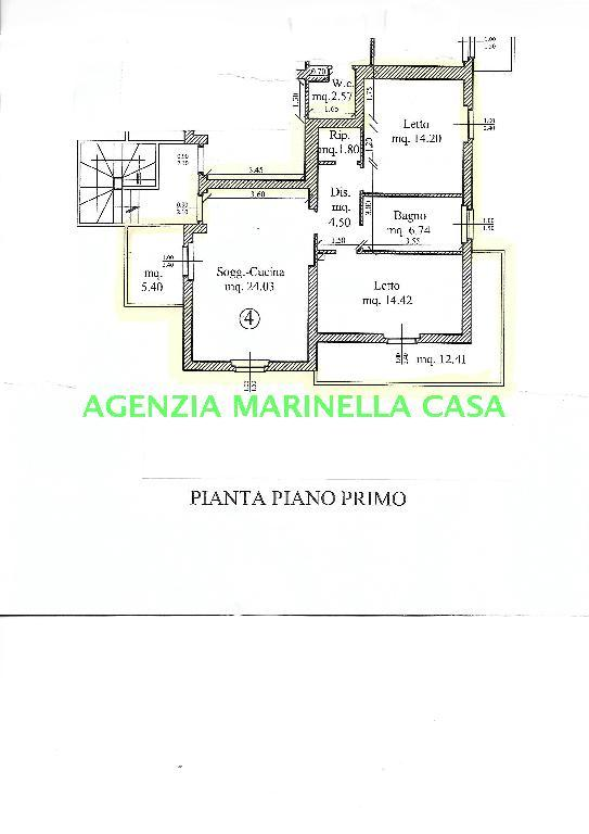 836C APPARTAMENTO VENDITA COLLI AL METAURO (PU) CALCINELLI